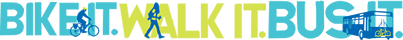 Bike Walk Bus Logo